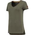 Tricorp T-Shirt Premium V Hals Dames afbeelding 4