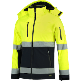 Tricorp Softshell ISO20471 Bicolor afbeelding